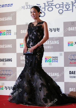 Cho Min-soo South Korean actress Cho Min-soo poses for photographers during the Blue Dragon Awards in Seoul, South Korea, . The awards is a major film and art awards ceremony in South Korea