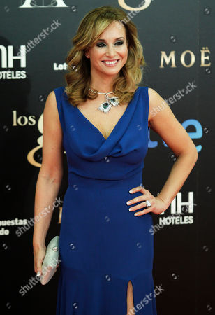 Mar Regueras Spanish actress Mar Regueras poses on arrival for the Goya Awards in Madrid, Spain
