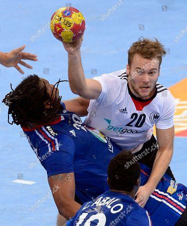 Editorial photo of Spain Handball Worlds, Barcelona, Spain
