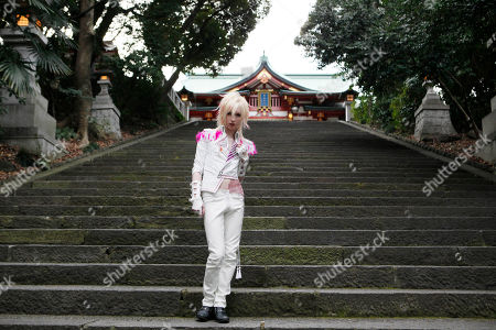 Editorial picture of Swedish Singer Yohio, Tokyo, Japan