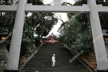 Editorial photo of Swedish Singer Yohio, Tokyo, Japan