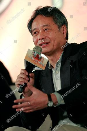 Editorial photo of Taiwan Ang Lee, Taipei, Taiwan