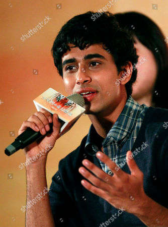 """Suraj Sharma Lead actor from India Suraj Sharma answers questions during a press conference announcing his new film """"Life of Pi,"""" in Taipei, Taiwan, . """"Life of Pi"""" is an upcoming 3D adventure film based on the 2001 novel of the same name by Yann Martel, staring Sharma and directed by veteran director Ang Lee"""