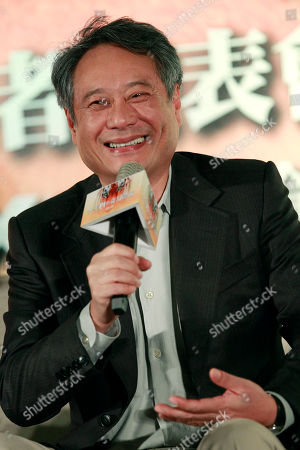 """Ang Lee Taiwanese director Ang Lee answers questions during a press conference announcing his new film """"Life of Pi,"""" in Taipei, Taiwan, . """"Life of Pi"""" is an upcoming 3D adventure film based on the 2001 novel of the same name by Yann Martel, staring Suraj Sharma and directed by Lee"""