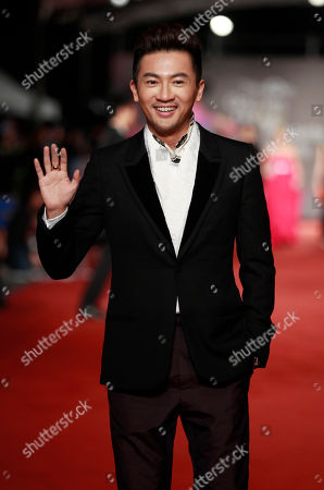 Stock Photo of Alec Su Taiwanese actor and singer Alec Su arrives at the 49th Golden Horse Awards at the Luodong Cultural Working House in Yilan County, Taiwan, . Su is a guest at this year's Golden Horse Awards -one of the Chinese-language film industry's biggest annual events