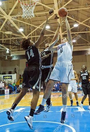 Editorial image of US Virgin Islands Wake Forrest UConn Basketball