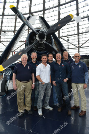 Joe Kittinger, Art Thompson,Felix Baumgartner,Luke Aikins, Andy Walsh, Jon Clark, Mike Todd The Red Bull Stratos team from left: Col. Joe Kittinger, Art Thompson,Felix Baumgartner, Luke Aikins, Andy Walsh, Jon Clark and Mike Todd pose for the photographers after a press conference in Salzburg, Austria on . Supersonic skydiver Felix Baumgartner has finally come home after his death-defying, record-breaking leap from the edge of space. The Austrian former military parachutist faced reporters in his home city of Salzburg on Saturday, nearly two weeks after his plunge from a balloon to the New Mexico desert made him the first person to reach supersonic speed without traveling in a jet or spacecraft