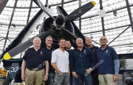 Joe Kittinger, Art Thompson,Felix Baumgartner,Luke Aikins, Andy Walsh, Jon Clark,Mike Todd The Red Bull Stratos team from left: Col. Joe Kittinger, Art Thompson,Felix Baumgartner, Luke Aikins, Andy Walsh, Jon Clark and Mike Todd pose for the photographers after a press conference in Salzburg, Austria on . Supersonic skydiver Felix Baumgartner has finally come home after his death-defying, record-breaking leap from the edge of space. The Austrian former military parachutist faced reporters in his home city of Salzburg on Saturday, nearly two weeks after his plunge from a balloon to the New Mexico desert made him the first person to reach supersonic speed without traveling in a jet or spacecraft