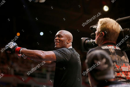 Anderson Silva Anderson Silva, from Brazil, celebrates after defeating Stephan Bonnar, from the United States, during their light heavyweight mixed martial arts bout at the Ultimate Fighting Championship (UFC) 153 in Rio de Janeiro, Brazil