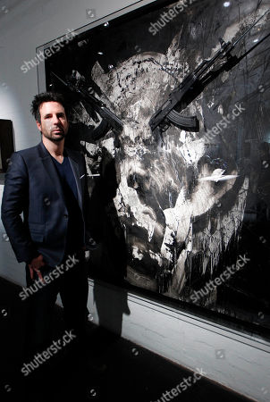 Editorial picture of Britain AKA Peace Art Exhibition