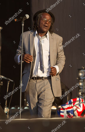 Neville Staple Neville Staple of The Specials performs on stage for BT London Live at Hyde Park in central London