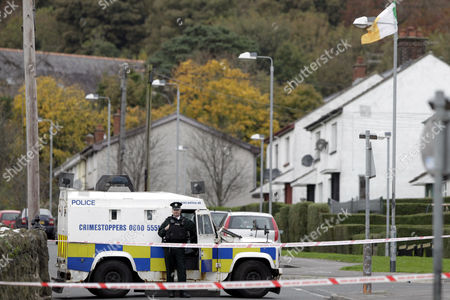 Editorial picture of Britain Northern Ireland Shooting