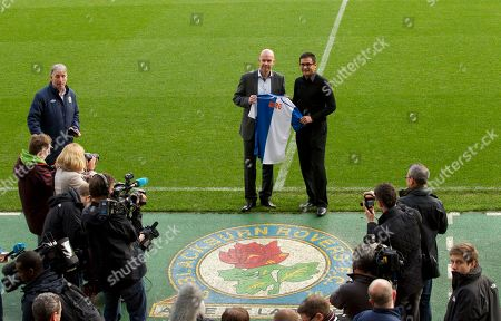 Editorial photo of Britain Soccer Blackburn manager