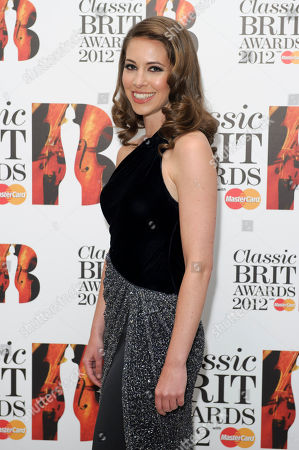 Amy Dickson Amy Dickson arrives for the Classic BRIT Awards Nominations Launch party at a central London venue