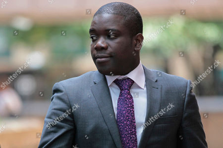 Kweku Adoboli Former trader Kweku Adoboli leaving Southwark Crown Court in London for a lunch break from his trial at the court. A rogue trader who lost $2.2 billion in bad deals at Swiss bank UBS was convicted of fraud on Tuesday, Nov. 20, 2012. Ghanaian-born Kweku Adoboli, 32, exceeded his trading limits and failed to hedge trades, allegedly faking records to cover his tracks at the bank's London office. At one point, Adoboli risked running losses of up to $12 billion. The fraud conviction carries a maximum jail term of 10 years