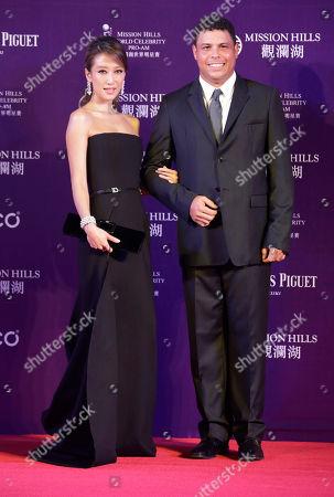 Stock Photo of Jennifer Tse and Ronaldo