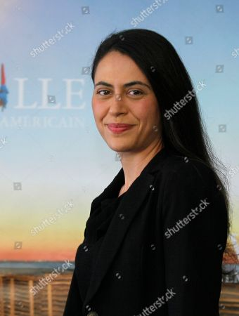Lucy Mulloy British director Lucy Mulloy poses for photographers during a photo call for the movie 'Una Noche' at the 38th American Film Festival in Deauville, Normandy, France