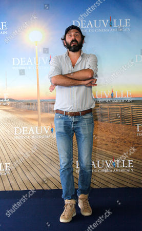 Quentin Dupieux French director Quentin Dupieux poses during the photo call of the movie 'Wrong' at the 38th American Film Festival in Deauville, Normandy, France