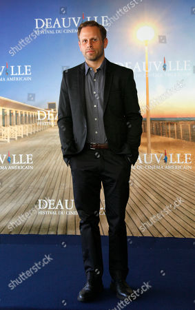 Matt Ruskin U.S. director Matt Ruskin poses for photographers during a photo call for the movie 'Electrick Children' at the 38th American Film Festival in Deauville, Normandy, France