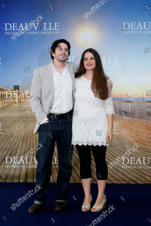 Brian M. cassidy, Melanie Shatzky U.S. director Brian M. Cassidy and Canadian director Melanie Shatzky pose during the photo call of the movie 'Francine' at the 38th American Film Festival in Deauville, Normandy, France