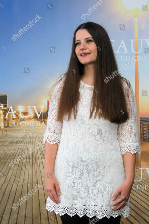 Stock Photo of Melanie Shatzky Canadian director Melanie Shatzky poses during the photo call of the movie 'Francine' at the 38th American Film Festival in Deauville, Normandy, France