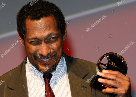 Percival Everett U.S. writer Percival Everett holds his trophy after he was awarded with the Literary Award at the 38th American Film Festival, in Deauville, Normandy, France