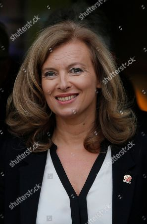 Editorial picture of France Valerie Trierweiler, Paris, France