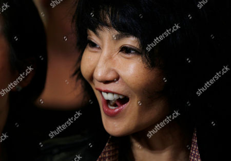 Maggie Cheung Hong Kong actress Maggie Cheung smiles during the opening ceremony of the new Burberry flagship store in Hong Kong