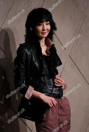 Maggie Cheung Hong Kong actress Maggie Cheung poses during the opening ceremony of the new Burberry flagship store in Hong Kong