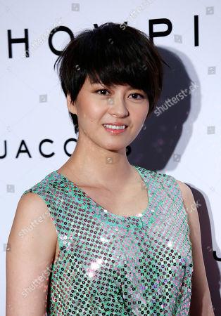 Gigi Leung Hong Kong actress and singer Gigi Leung poses during a fashion exhibition in Hong Kong