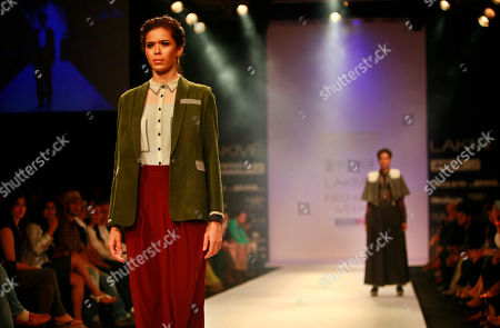 Editorial picture of India Fashion Week, Mumbai, India