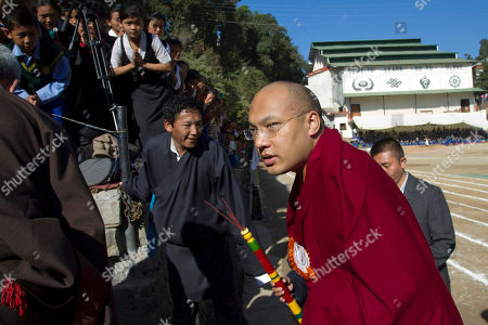 Ogyen Trinley Dorje Tibetan Buddhist leader Ogyen Trinley Dorje, or the Karmapa, arrives to attend the annual function of the Tibetan Children's Village School in Dharmsala, India, . The school started as an orphanage in 1960 and now houses and educates over 2,000 Tibetan refugee children