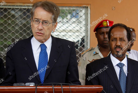 Former Somali President Stock Pictures, Editorial Images and Stock