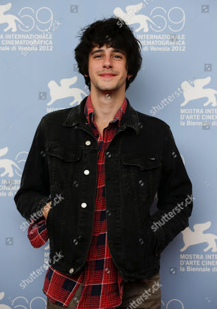 Clement Metayer Actor Clement Metayer poses for the photo call of the film 'Apres Mai' at the 69th edition of the Venice Film Festival in Venice, Italy