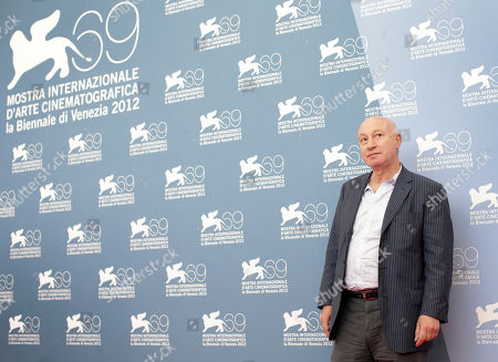 Pascal Bonitzer Director Pascal Bonitzer poses at the photo call for the movie 'Cherchez Hortense' at the 69th edition of the Venice Film Festival in Venice, Italy