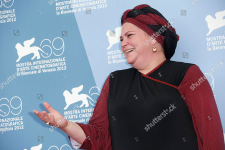 Rama Burshtein Director Rama Burshtein poses for the photo call of the film 'Fill The Void' at the 69th edition of the Venice Film Festival in Venice, Italy