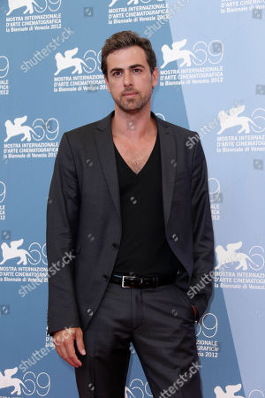 Yiftach Klein Actor Yiftach Klein poses for the photo call of the film 'Fill The Void' at the 69th edition of the Venice Film Festival in Venice, Italy