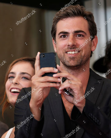 Yiftach Klein, Hadas Yaron Actor Yiftach Klein takes a photo at the photo call of the film 'Fill The Void' at the 69th edition of the Venice Film Festival in Venice, Italy