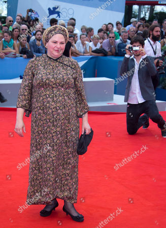 Rama Burshtein Director Rama Burshtein arrives for the premiere of the movie 'Fill The Void' at the 69th edition of the Venice Film Festival in Venice, Italy