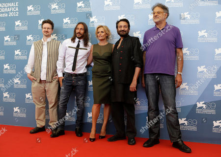 Matt Reeves, Bob Sinclar, Isabella Ferrari, Shekhar Kapur, Michel Demopoulos Opera Prima jury members from left, Matt Reeves, Bob Sinclair, Isabella Ferrari, Jury president Shekhar Kapur and jury member Michel Demopoulos pose at a photocall during the 69th edition of the Venice Film Festival in Venice, Italy