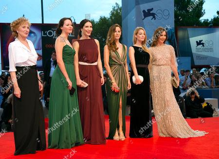 Editorial photo of Italy Venice Film Festival Linhas De Wellington Red Carpet, Venice, Italy