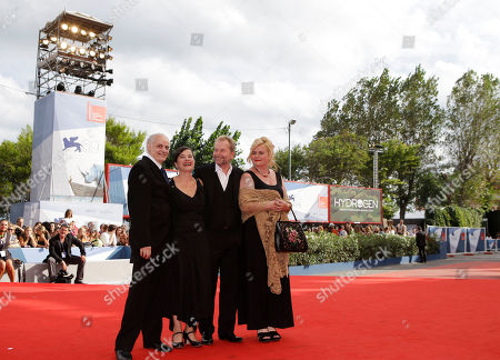 Nabil Saleh, Maria Hofstatter, Director Ulrich Seidl, Veronica Franz Actors Nabil Saleh, Maria Hofstatter, Director Ulrich Seidl and Veronica Franz arrive for the premiere of the movie 'Paradies: Glaube' (Paradise Faith) at the 69th edition of the Venice Film Festival in Venice, Italy