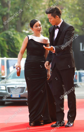Cho Min-soo Lee Jung-Jin Actors Cho Min-soo, left, and Lee Jung-Jin arrive for the premiere of the movie 'Pieta' at the 69th edition of the Venice Film Festival in Venice, Italy