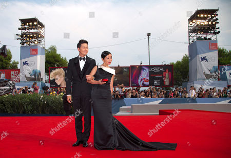Cho Min-soo Lee Jung-Jin Actors Cho Min-soo, right, and Lee Jung-Jin arrive for the premiere of the movie 'Pieta' at the 69th edition of the Venice Film Festival in Venice, Italy