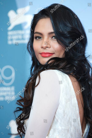 Lovi Poe Actress Lovi Poe poses during the photo call of the movie 'Sinapupunan' (Thy Womb) at the 69th edition of the Venice Film Festival in Venice, Italy