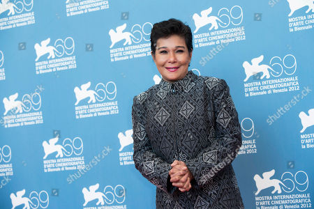 Nora Aunor Actress Nora Aunor poses during the photo call of the movie 'Sinapupunan' (Thy Womb) at the 69th edition of the Venice Film Festival in Venice, Italy