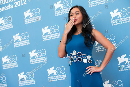 Mercedes Cabral Actress Mercedes Cabral poses during the photo call of the movie 'Sinapupunan' (Thy Womb) at the 69th edition of the Venice Film Festival in Venice, Italy