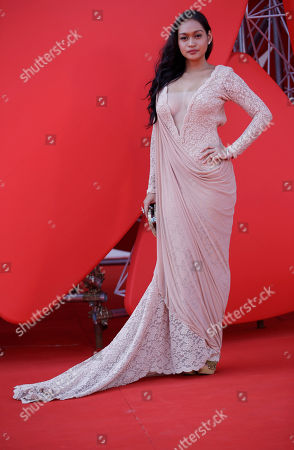 Mercedes Cabral Actress Mercedes Cabral attends the premiere of the of the film 'Sinapupunan' (Thy Womb) at the 69th edition of the Venice Film Festival in Venice, Italy