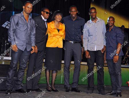 Editorial image of Jamaica Honoring Olympians, Kingston, Jamaica