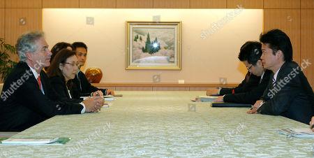 William Burns, Koichiro Gemba U.S. Deputy Secretary of State William Burns, left, talks with Japan's Foreign Minister Koichiro Gemba during their meeting in Tokyo